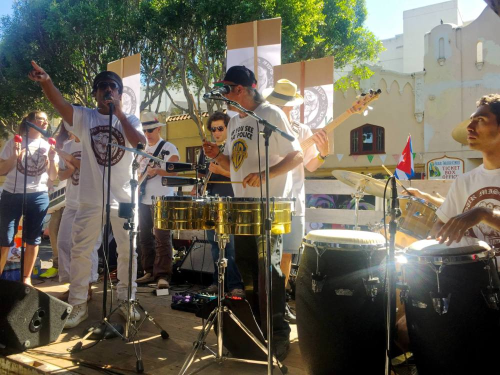 Mission Latin All-Star Band. Photo by Peter Menchini.